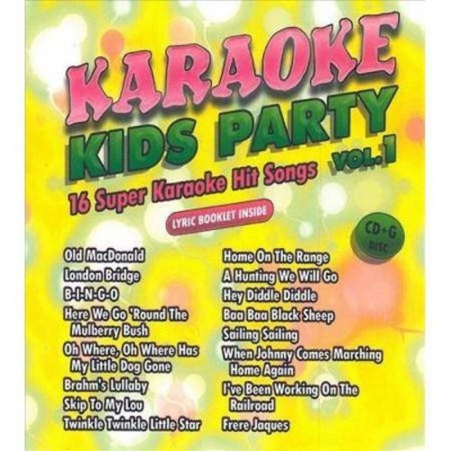 Karaoke Cloud - Kids Karaoke Party Vol 1 (CD)