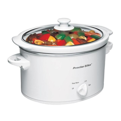 3 Quart Oval Slow Cooker