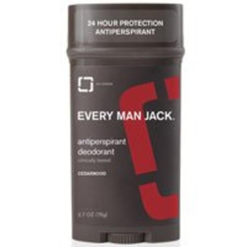 Every Man Jack Deodorant Stick Aluminum Free Cedar Wood