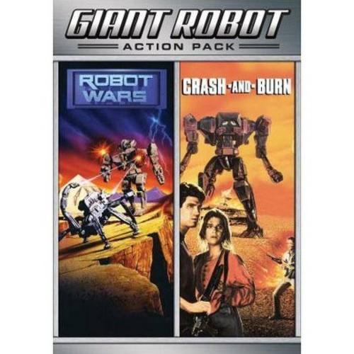 Giant Robot Action Pack: Robot Wars/Crash and Burn