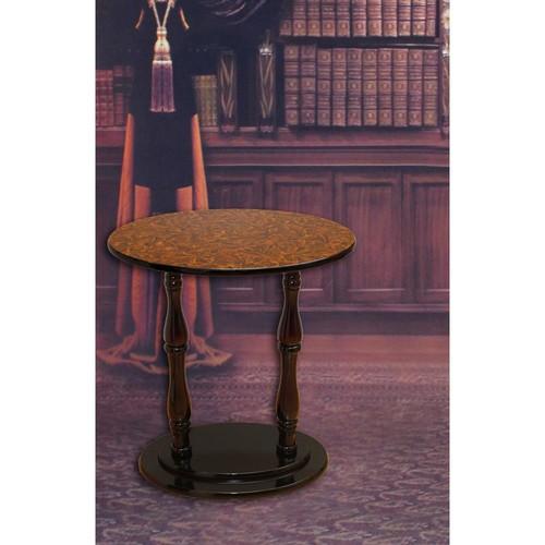 Uniquewise Espresso Brown End Table
