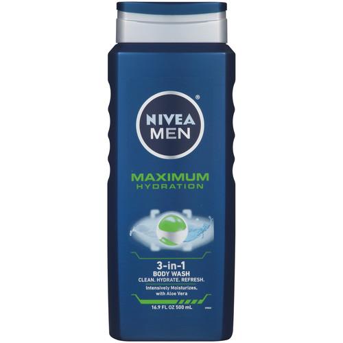 Nivea Men Maximum Hydration Body Wash, 16.9 OZ