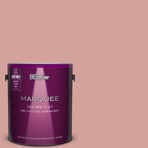 BEHR MARQUEE 1 gal. #S160-3 1-Coat Hide Tinted to Bubble Shell Interior Ceiling Paint