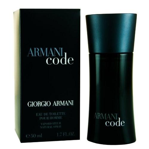 Armani Code By Giorgio Armani For Men. Eau De Toilette Spray 1.7 Ounces [50 ml/1.7 oz.]