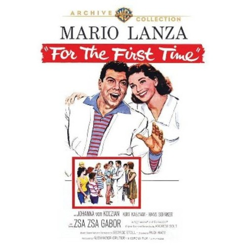 For the First Time [DVD] [1959]