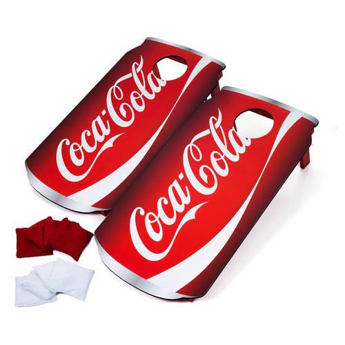 Coca Cola Can Cornhole Set