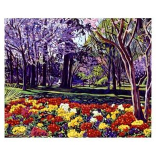 Trademark Fine Art 26 in. x 32 in. Sunday in the Park Canvas Art