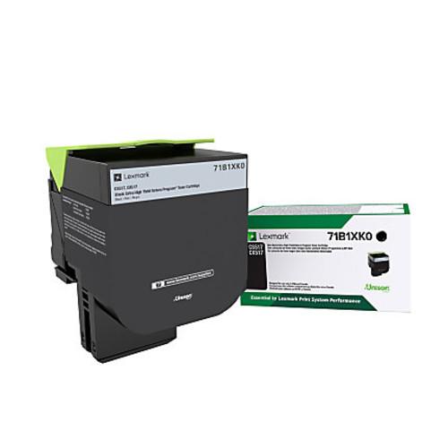 Lexmark 71B1XK0 Extra-High-Yield Return Program Black Toner Cartridge