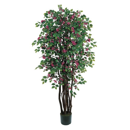 Nearly Natural 6 ft. Bougainvillea Silk Tree