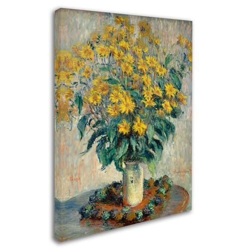 Trademark Fine Art 'Jerusalem Artichoke Flowers' 35