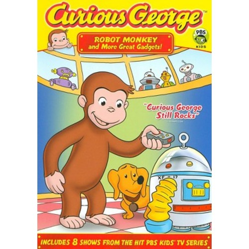 Curious George: Robot Monkey and More Great Gadgets [DVD]