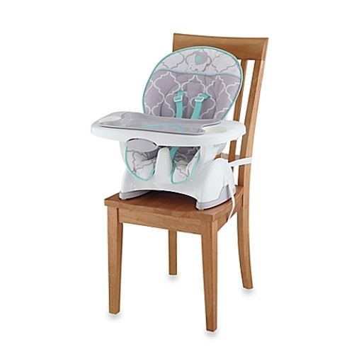 Fisher-Price Deluxe Spacesaver High Chair in Safari Dreams
