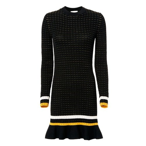 3.1 PHILLIP LIM Smocked Knit Dress