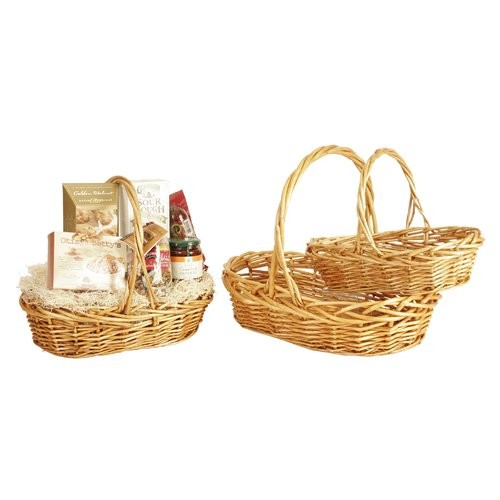 3 Piece Willow Basket Set
