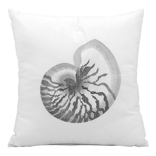 Mina Victory Seashell Outdoor Throw Pillow