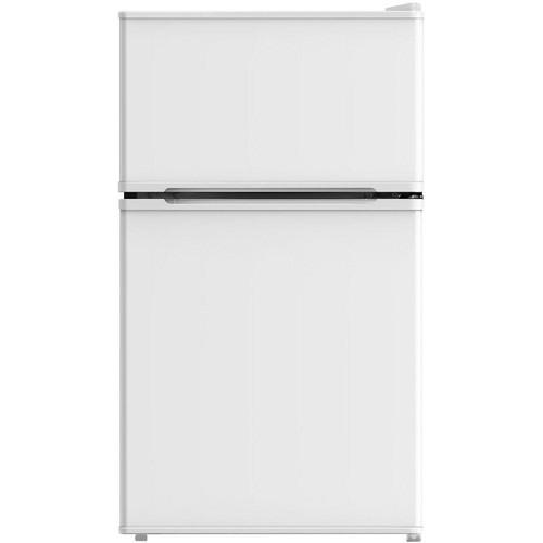 Midea 3.1 cu. ft. Mini Refrigerator with Freezer in White