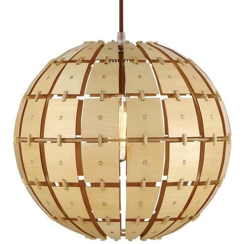 Varaluz Wooda Coulda Shoulda 1-Light Small Pendant
