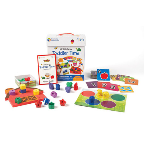 Learning Resources All Ready for Toddler Time Readiness Kit JCPenney