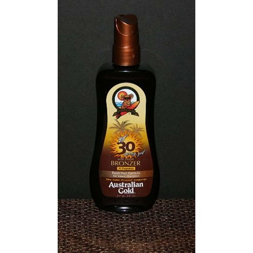 Australian Gold Spray Gel SPF 30 w/Bronzers 8 oz
