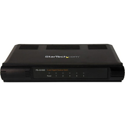 StarTech.com 5 Port Unmanaged Energy-Efficient Gigabit Ethernet Switch - Desktop / Wall Mount Network Switch