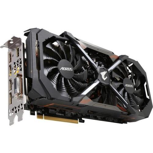GIGABYTE AORUS GeForce GTX 1080 Ti DirectX 12 GV-N108TAORUS-11GD 11GB 352-Bit GDDR5X PCI Express 3.0 x16 SLI Support ATX Video Card