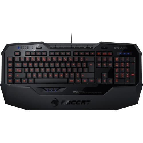 Roccat - Isku FX - Multicolor Gaming Keyboard - Black