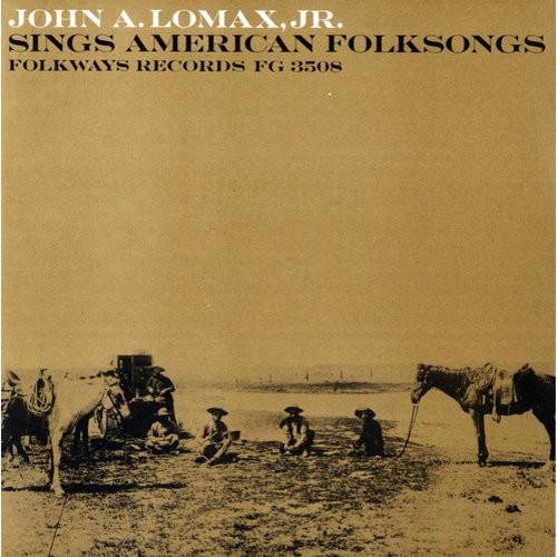 John A. Lomax, Jr., Sings American Fo