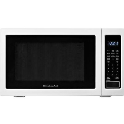 KitchenAid Architect Series II 1.6 cu. ft. Countertop Microwave in White Built-In Capable with Sensor Cooking