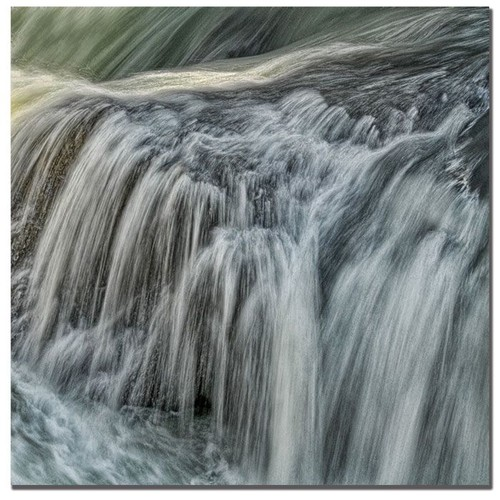 Trademark Global Philippe Sainte-Laudy 'Waterfall in D' Canvas Art [Overall Dimensions : 35x35]