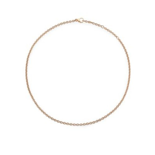 Sabbia 18K Rose Gold Necklace Chain/16.5