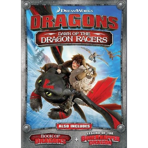DRAGONS-DAWN OF THE DRAGON RACERS DVD/WS