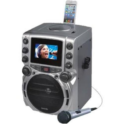 Karaoke Usa Gq743 Cd+g Bluetooth Karaoke System With 4.3