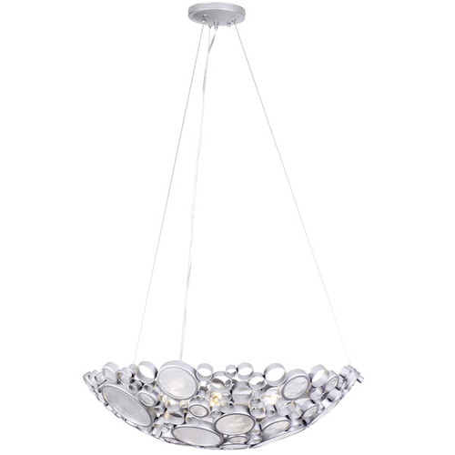 Varaluz Fascination 4-Light Bowl Pendant