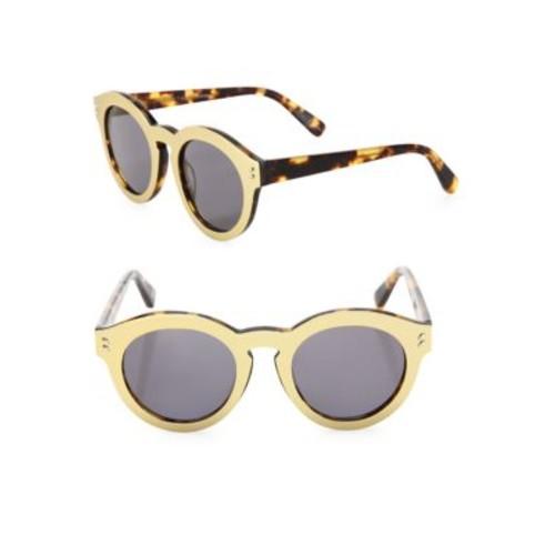 STELLA MCCARTNEY 49Mm Round Sunglasses