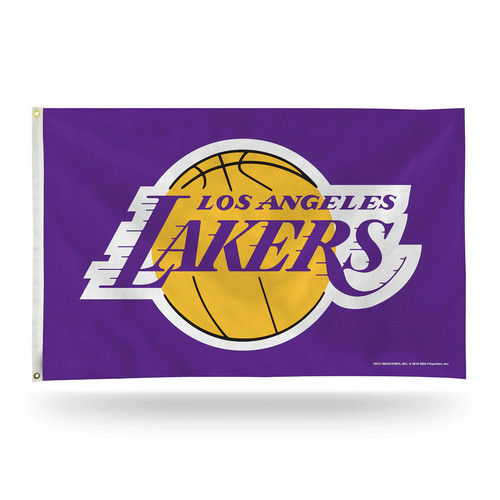 Los Angeles Lakers Banner Flag