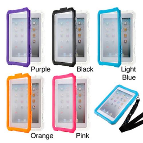 Gearonic Waterproof Snow Proof Protective Case for iPad Mini 1/2/3 [option : Light Blue]