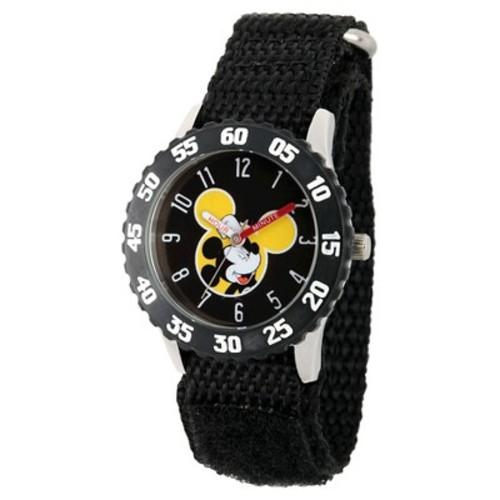 Disney Mickey Mouse Kids' Watch - Black