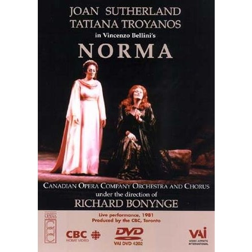 Bellini - Norma / Bonynge, Sutherland, Troyanos, Canadian Opera Company