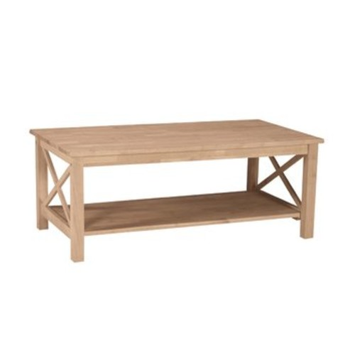 International Concepts OT-70C Hampton Coffee Table - Unfinished