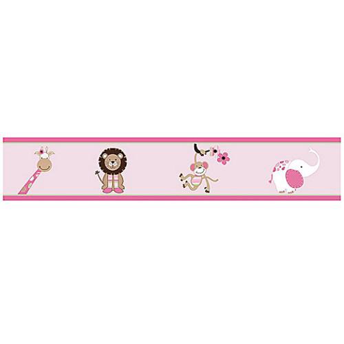 Sweet Jojo Designs Jungle Friends Wallpaper Border