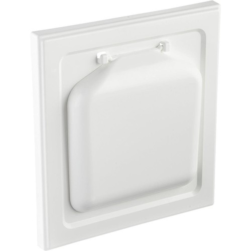 P-Tec Products No Pest Wide Mount Dryer Vent Hood - NPWRW