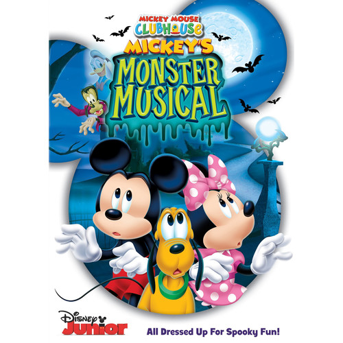 Mickey Mouse Clubhouse: Mickey's Monster Musical [DVD]