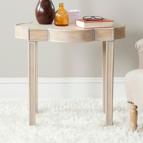 Safavieh Quatrefoil End Table