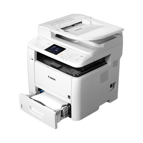 Canon - ImageCLASS D1550 Wireless Black-and-White All-In-One Laser Printer - White