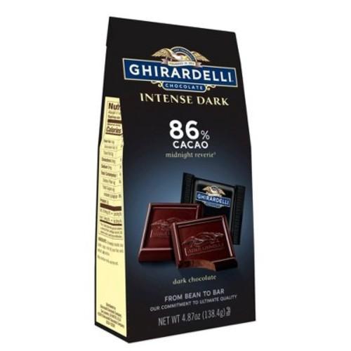 Ghirardelli Intense Dark Midnight Reverie 86% Cacao Squares - 4.12oz