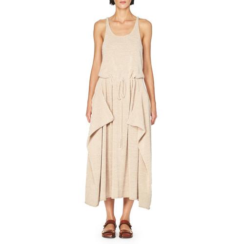 STELLA MCCARTNEY Sleeveless Knit Drawstring Midi Dress, Light Pink
