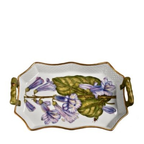 Blue Bells Tray with Handles