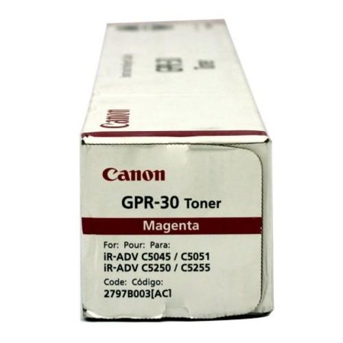 Canon Gpr-30 Toner Cartridge - Magenta - Laser - 38000 Page - 1 Each (2797B003AA)