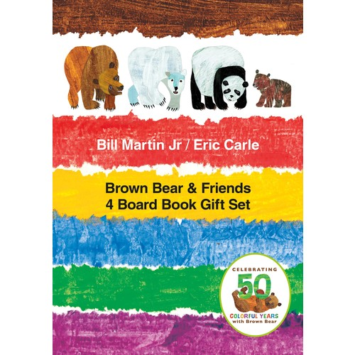 Brown Bear & Friends Gift Set