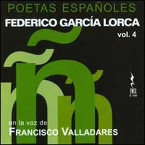 Federico Garca Lorca: Poetas Espaoles, Vol. 4 By Agustn Maruri (Audio CD)